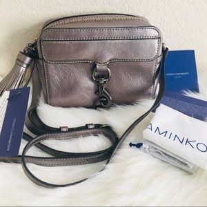 NWT Rebecca Minkoff Gunmetal MAB Camera Bag